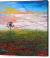 The Scented Sky Canvas Print