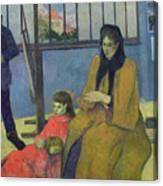 The Schuffenecker Family Canvas Print
