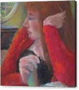 The Scotswoman  Copyrighted Canvas Print