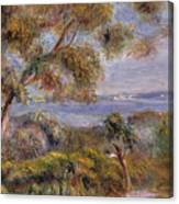 The Sea At Cagnes Canvas Print