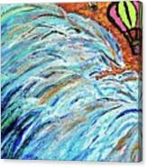 The Sea Blimps Canvas Print
