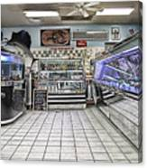 The Seafood Store Canvas Print