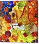 The Seaform Pavilion Canvas Print