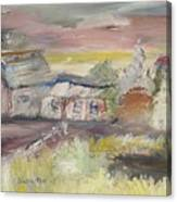 The Seaside Ranch Canvas Print