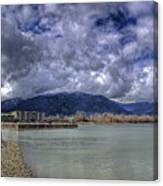 The Seasons On Lake Pend Oreille Canvas Print