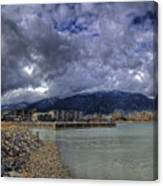 The Seasons Sandpoint Canvas Print