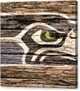 The Seattle Seahawks 2f Canvas Print
