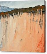 The Second Cliff Edge Canvas Print