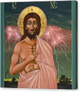 The Second Coming Of Christ The King 149 Canvas Print