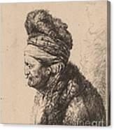 The Second Oriental Head Canvas Print