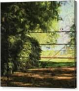 The Secret Gate Canvas Print