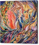 The Secret Of Blue Birds Canvas Print