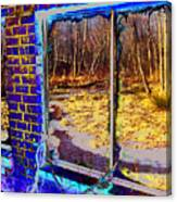 The Secret Window Canvas Print