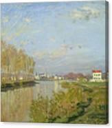 The Seine At Argenteuil Canvas Print