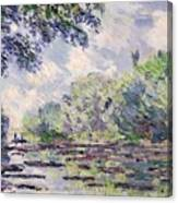 The Seine At Giverny Canvas Print