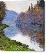 The Seine At Jenfosse Canvas Print
