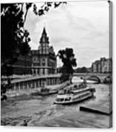 The Seine Paris1 Canvas Print