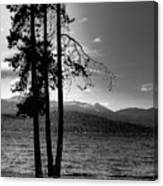 The Selkirk Mountains On Priest Lake Canvas Print
