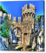 The Senator Castle - Il Castello Del Senatore Canvas Print
