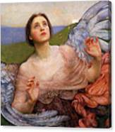 The Sense Of Sight By Annie Swynnerton  Canvas Print