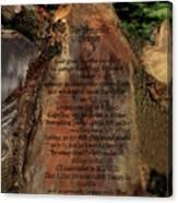 The Serenity Prayer Canvas Print