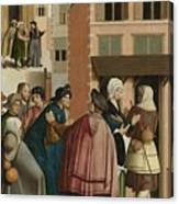The Seven Works Of Mercy Canvas Print