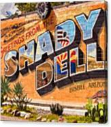 The Shady Dell Bisbee Az Canvas Print