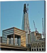 The Shard London Bridge Canvas Print