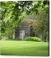 The Shed In The Trees Canvas Print