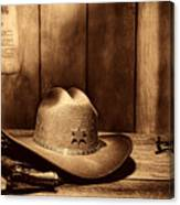The Sheriff Office Canvas Print