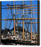 The Ship Balclutha Canvas Print