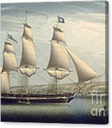 The Ship -favorite-maneuvering Off Greenock Canvas Print