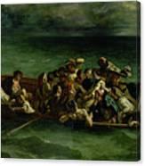 The Shipwreck Of Don Juan Canvas Print