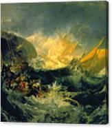 The Shipwreck Of The Minotaur Canvas Print