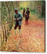 The Shoot Canvas Print