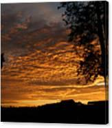 The Shortest Day Sunrise Canvas Print