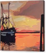The Shrimp Boat Canvas Print