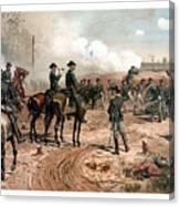 The Siege Of Atlanta Canvas Print