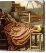 The Siesta, 1909 Canvas Print