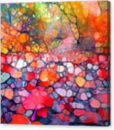The Simple Dreams Of Fallen Leaves Canvas Print