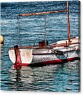The Simple Life Mykonos Canvas Print