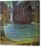 The Sirens Canvas Print