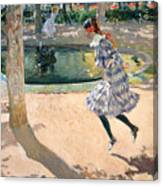 The Skipping Rope Canvas Print