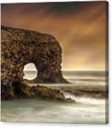 The Sky And The Arch Canvas Print