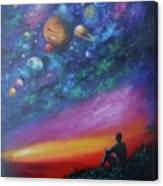 The Sky Canvas Print