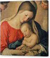 The Sleeping Christ Child Canvas Print