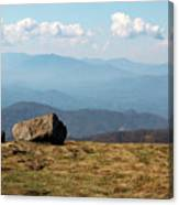 The Smokies From Roan Mountain I Canvas Print