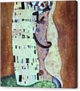The Smooch Canvas Print