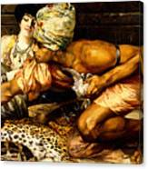 The Snake Charmer Canvas Print