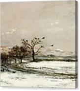 The Snow Canvas Print